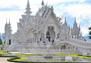 Храм White Temple в провинции Chiang Rai