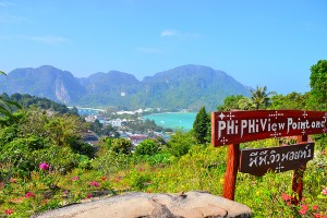 смотровая площадка, Остров Пхи Пхи дон, Тайланд (phi phi don)