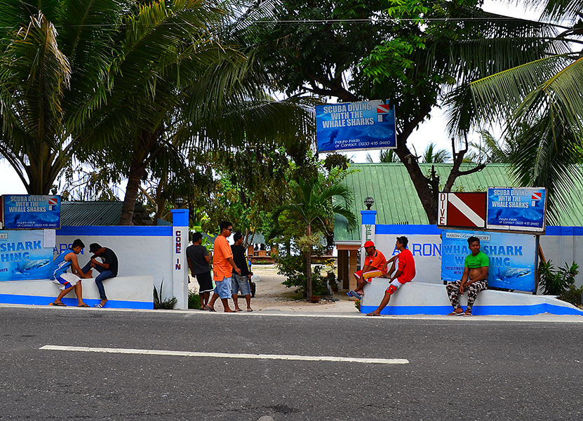 Diving Center in the city of Oslob