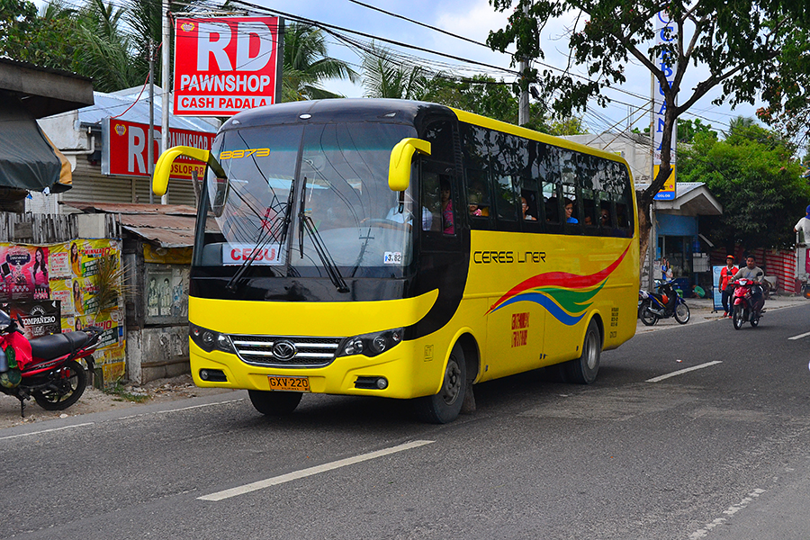 public transportation to Cebu