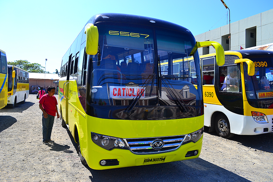 bus to Caticlan