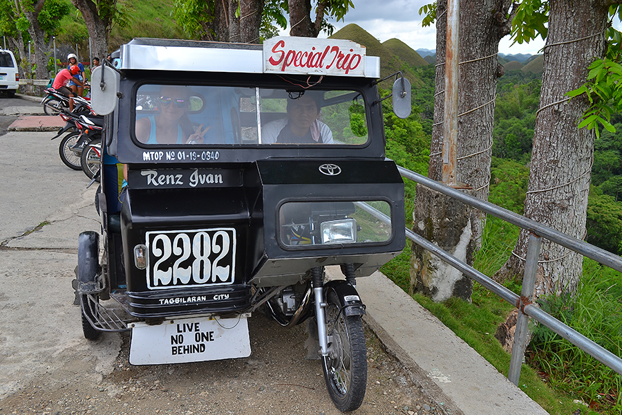 taxi in the Philippines/'s tricycle