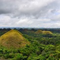 Chocolate hills in Bohol island, Phillipines