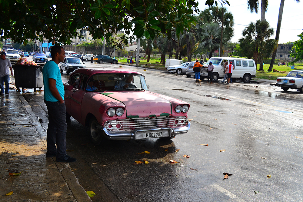 Retro machine in Havana