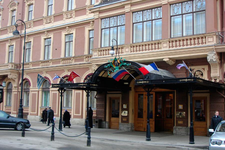 Grand Hotel Europe in St. Petersburg
