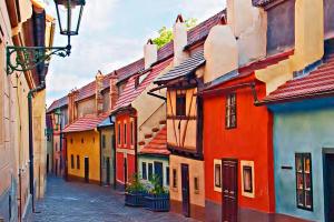Отель в одном из районов Праги