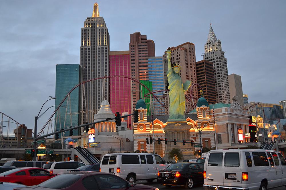 отель New York в Лас Вегасе