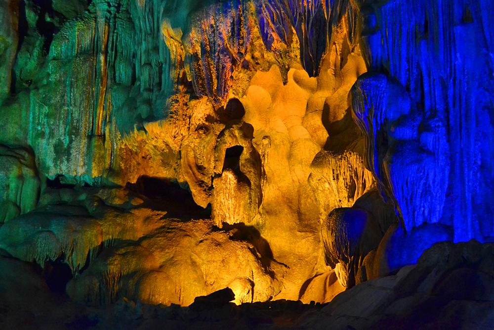 Гроты внутри пещеры