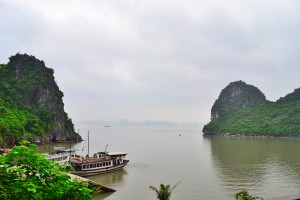 Вид на бухту со смотровой площаки