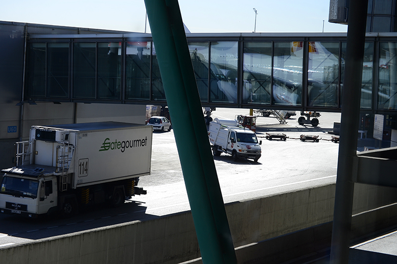 аэропорт в Мадриде