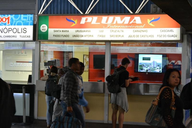автобусная касса компании Pluma