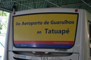 bus from GRU to Sao Paulo
