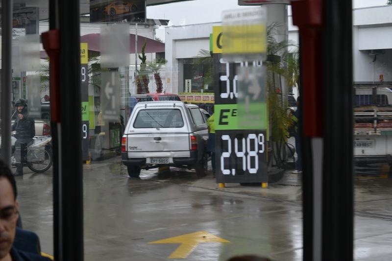 цены на Бензин в Бразилии
