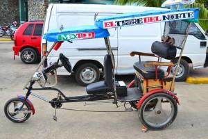 велотакси на Кубе