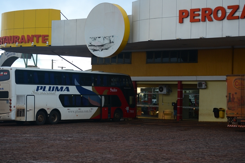 the second stop on the way to Foz do Iguaçu
