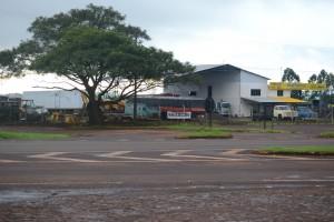 остановка на пути в Foz do Iguasu