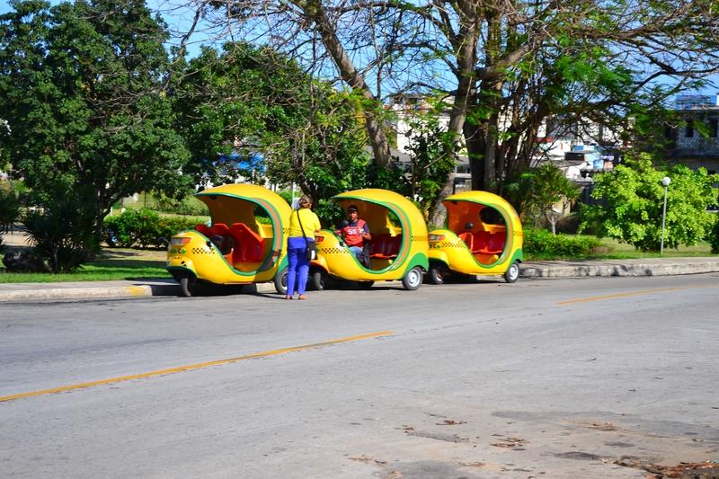 такси капсулы в Гаване