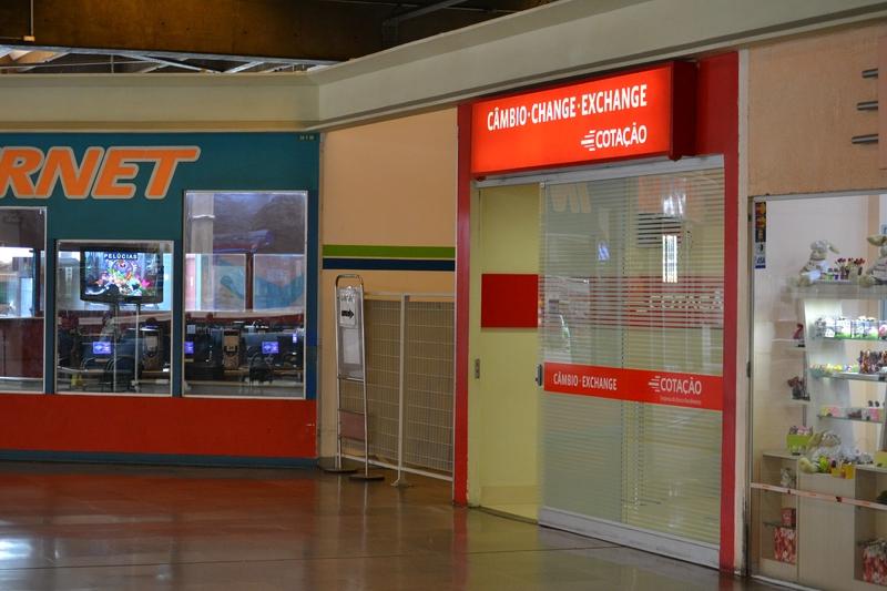 пункт обмена денег в терминале