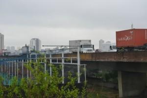 пробки на дорогах Сан Пауло