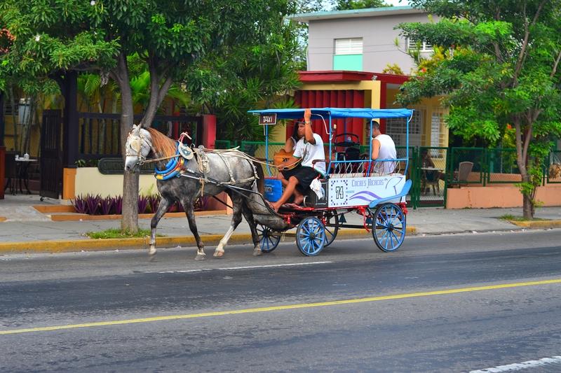 такси на лошадях в Варадеро