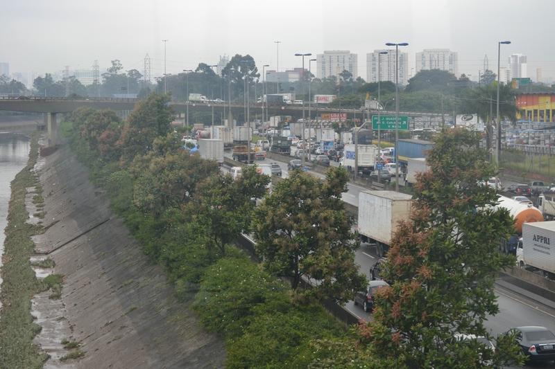 дороги в Сан Пауло
