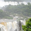 Iguasu waterfalls in Brazil