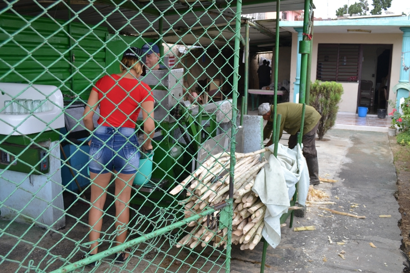 sales of cane juice in Cuba