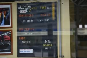 цена на автобус из Сан Пауло до Монтевидео