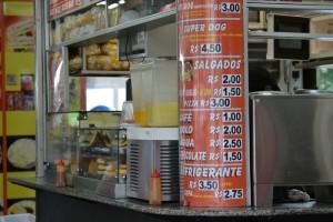 цены на еду в Сан Пауло в Бразилии
