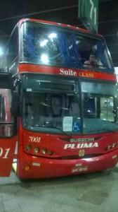 автобус из Сан Пауло до Foz do Iguacu