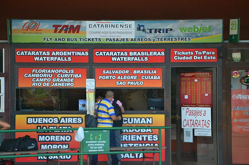 Некоторые варианты куда можно поехать на автобусе из Аргентины