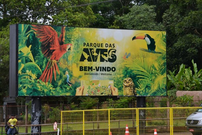Bird Park in Brazil | Parque das AVES
