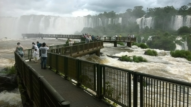 The Devil's throat in Iguazu