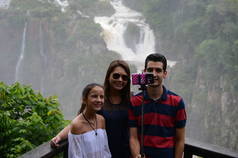 selfi on Iguazu