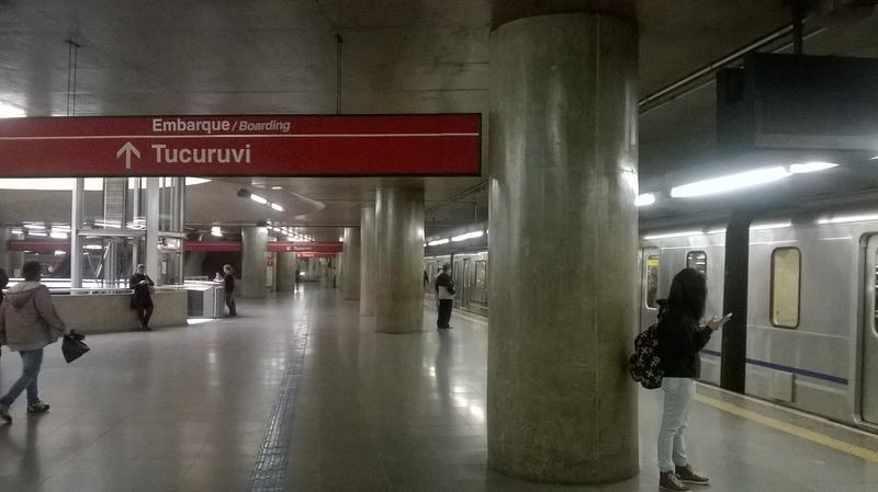 метро в Sao Paulo