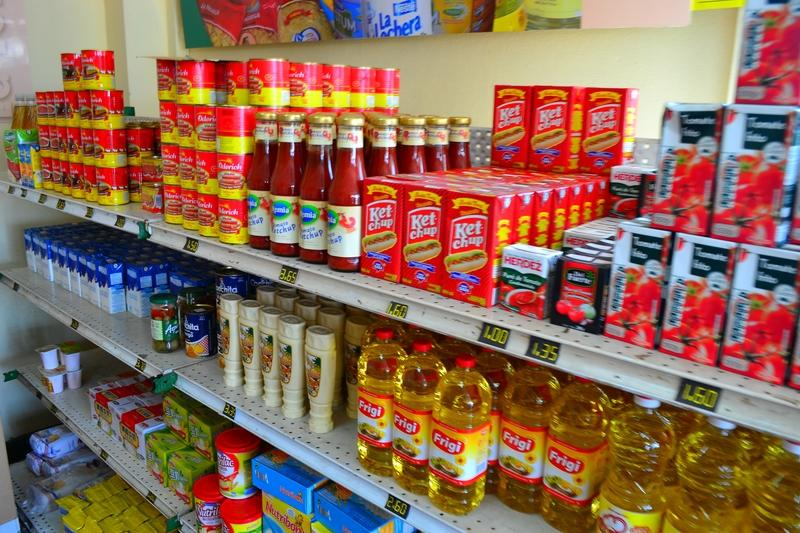 продуктовый магазин в Гаване