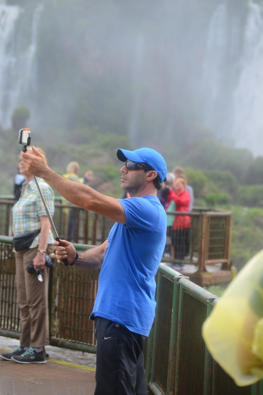 selfy photo in Iguacu