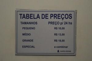 цены на услуги камеры хранения в автобусном терминале