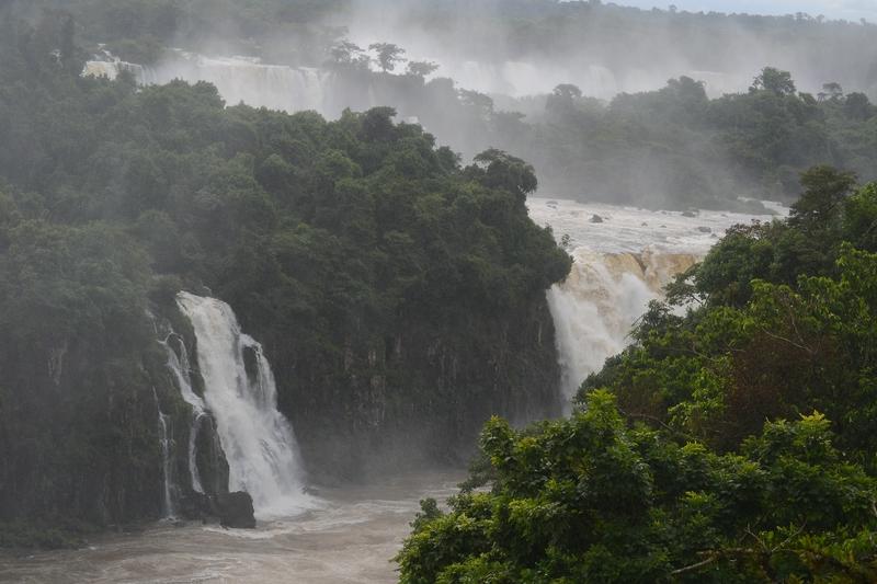 Iguasu falls in Brazil