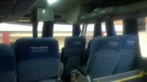 сиденья semi-cama в автобусе