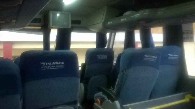the seat semi-cama in bus