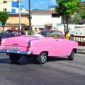 ретро такси на Кубе