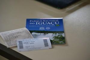Билеты в национальный парк Iguasu