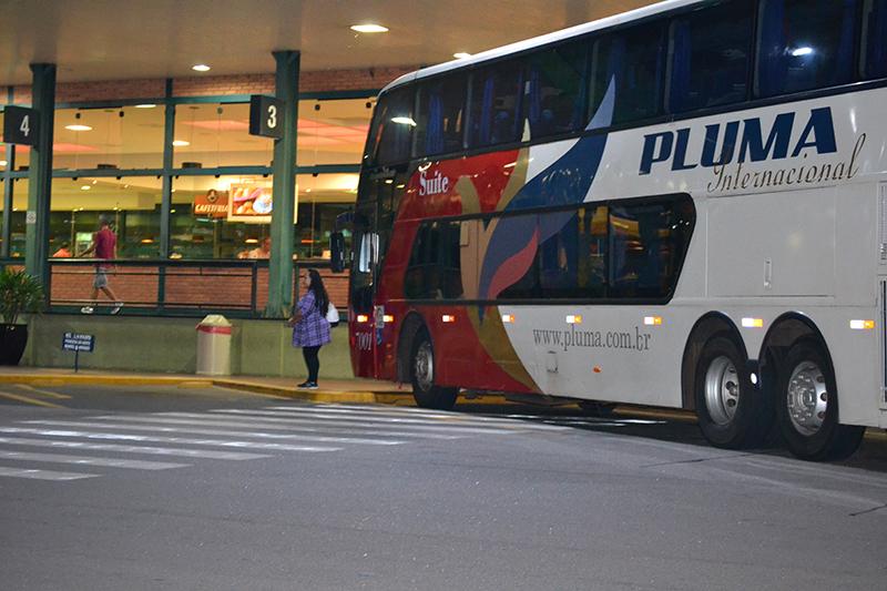 Автобус для дальних дистанций в Бразилии