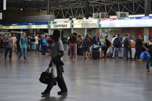 автобусный терминал Tiete в Сан Пауло