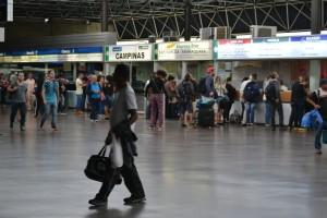 билетные кассы в терминале Сан Пауло