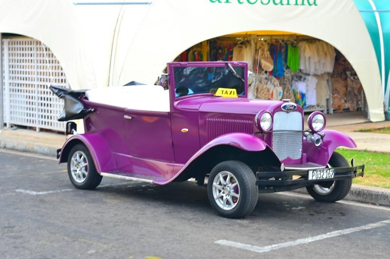 ретро такси в Варадеро