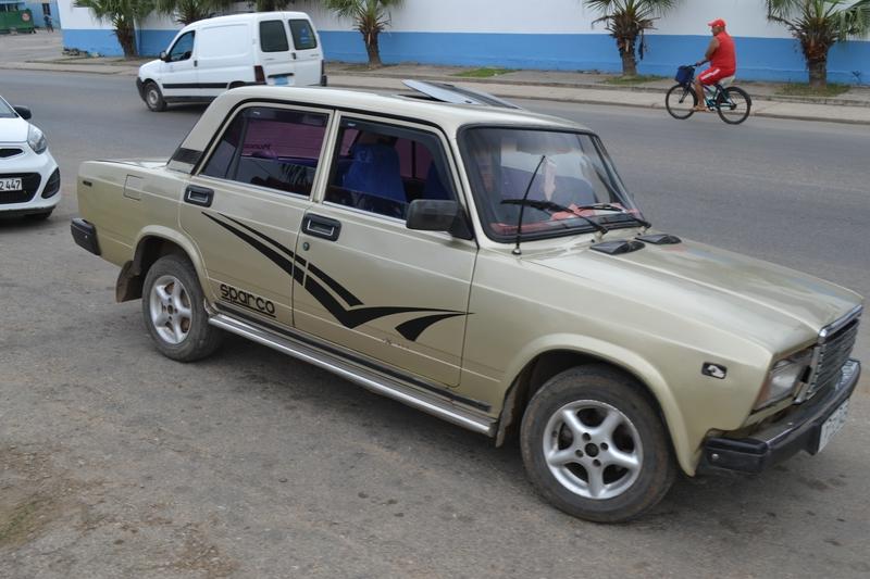 русские машины на Кубе