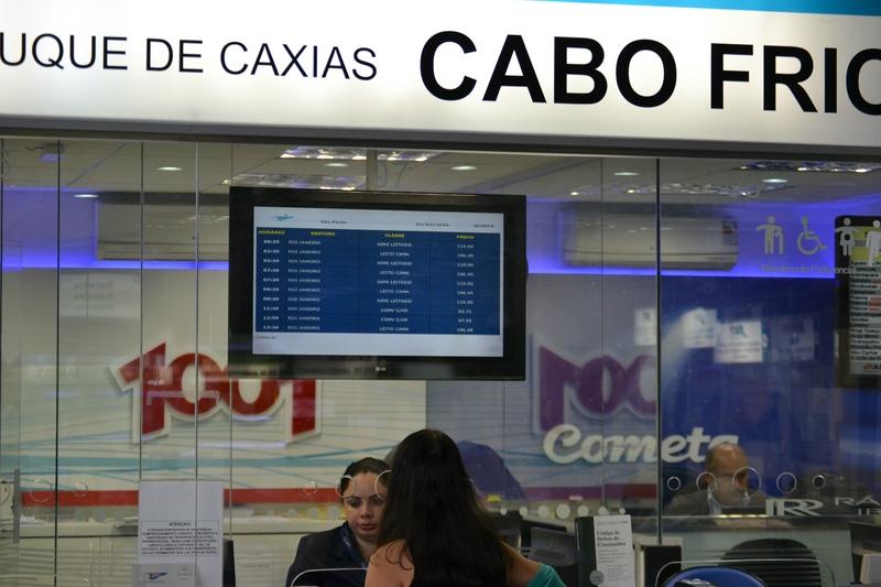 билетная касса по билетам внутри Бразилии