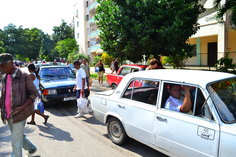 Russian cars in Havana
